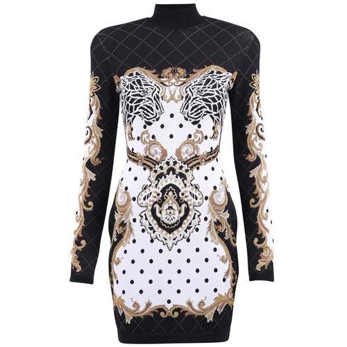 Balmain Tailliertes Kleid