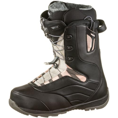 Nitro Snowboards Crown TLS Snowboard Boots Damen in BLACK-ROSE, Größe 26