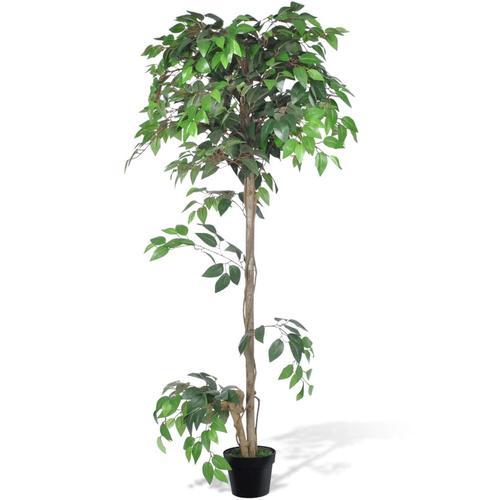 Künstlicher Ficus mit Topf 160 cm