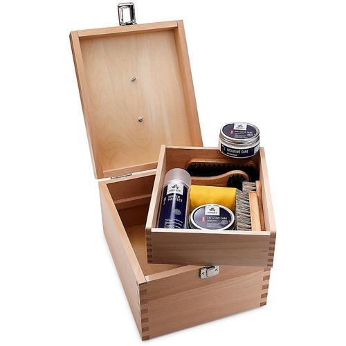Nico, Schuhputz-Kiste in bunt, Pflegemittel für Schuhe