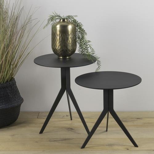 Spinder Design Beistelltisch Daley schwarz Beistelltische Tische