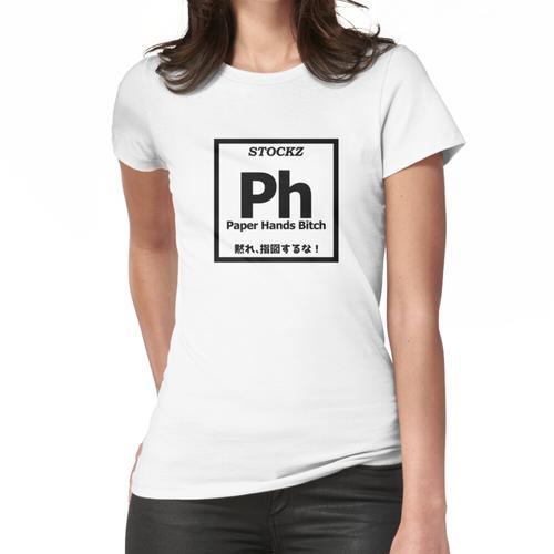 Papierhände - Element - STOCKZ Frauen T-Shirt