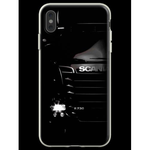Scania LKW T-Shirt, Scania LKW Scania R730 Trucker Camion Car Autom Flexible Hülle für iPhone XS Max