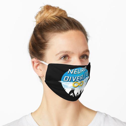 Greifen Sie nach Neurodiversum Maske