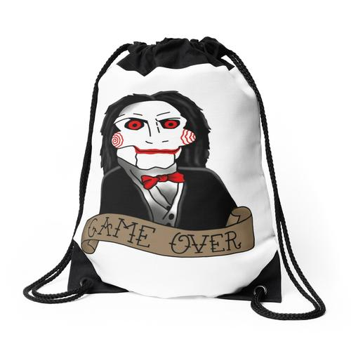 Billy the Puppet von Saw and Jigsaw Rucksackbeutel