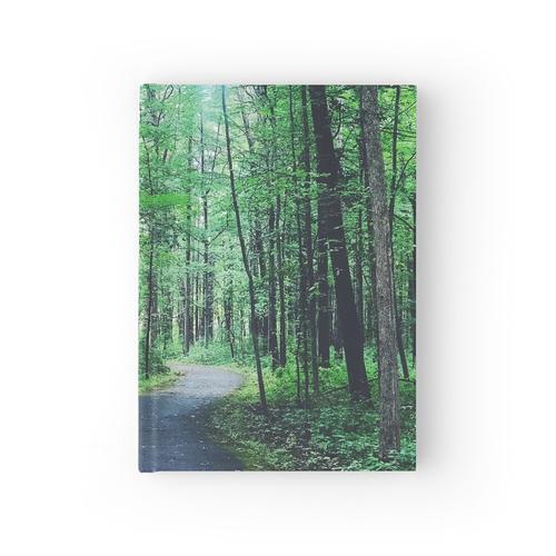 Der überdachte Weg Notizbuch