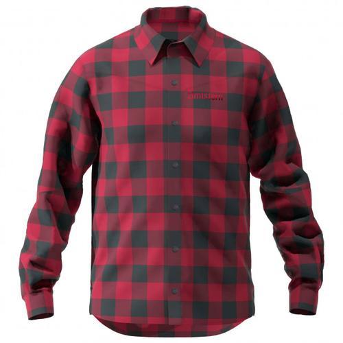 Zimtstern - Timbaz Shirt - Hemd Gr M rot/schwarz/lila/rosa
