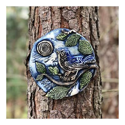 Lucky Bluebird Tree Charm