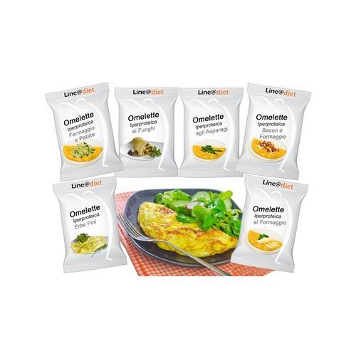 Protein-Omelett: Speck-Käse / 20