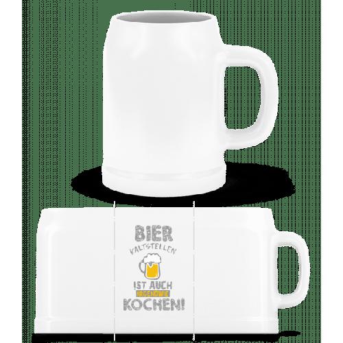 Bier Kaltstellen Ist Wie Kochen - Bierkrug
