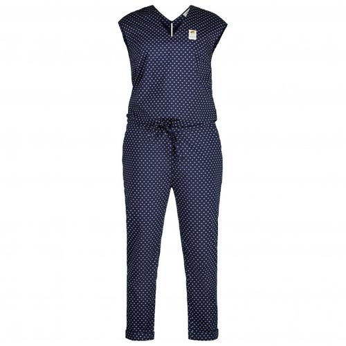 Maloja - Women's SilberdistelM. - Jumpsuit Gr XL blau/schwarz