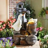 Solar Duck Fountain By Coopers O...