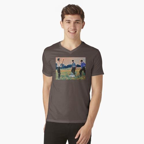 Der Drucker t-shirt:vneck