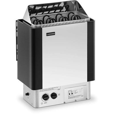 Poêle Radiateur Électrique Chauffage Pour Sauna Cabines De 5 - 9 m³ Inox - Uniprodo