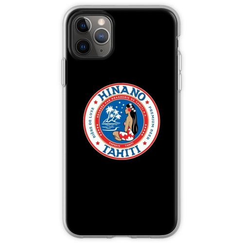 Hinano Tahiti Premium Bier Flexible Hülle für iPhone 11 Pro Max