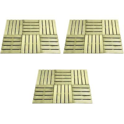 Terrassenfliesen 18 Stk. 50×50 c...