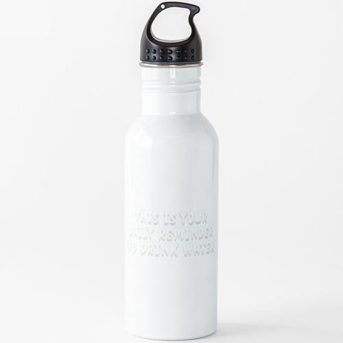 Tägliche Erinnerung an Wasser trinken !!!! Wasserflasche