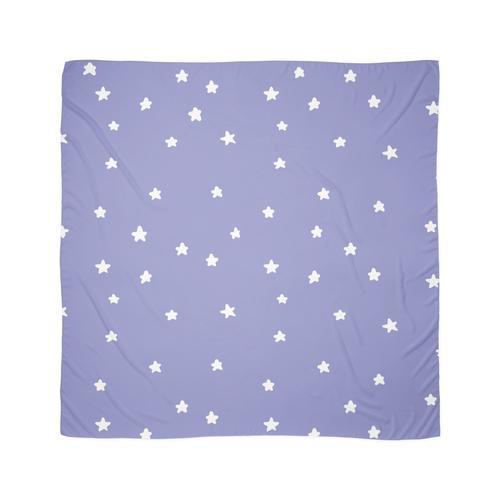 violette Sterne Tuch