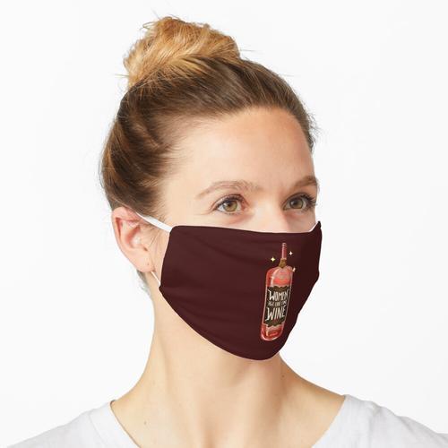 FRAUEN ALTER WIE FEINER WEIN Maske