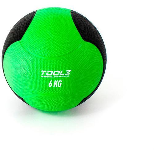 TOOLZ Medicine Ball Medizinball in green, Größe 6