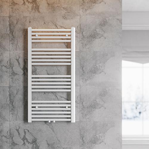 Handtuchhalter Heizung 1000 x 500 mm Heizkörper Bad Badheizkörper Mittelanschluss Handtuchtrockner