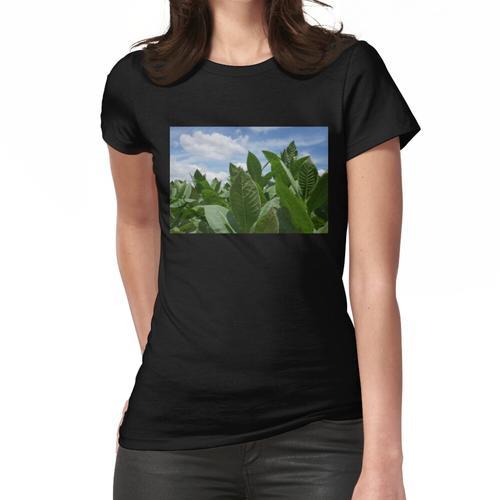 Tabakblattfeld Frauen T-Shirt