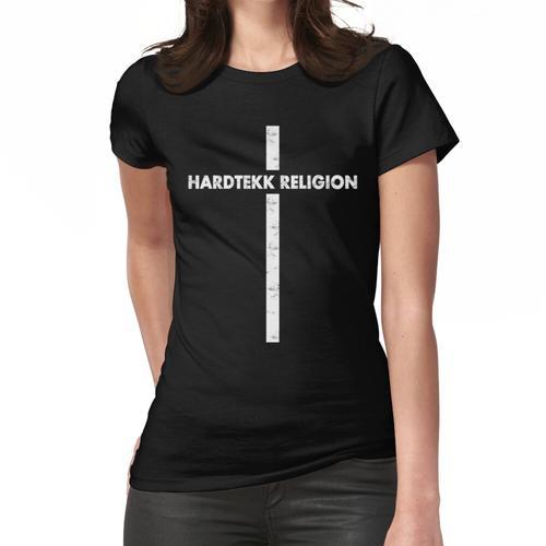 Hardtekk - Tekk - HARDTEKK Kreuz Frauen T-Shirt