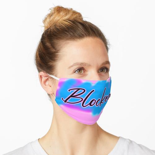 Blockierte Neon-Airbrush Maske