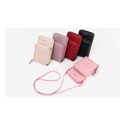 Handy-Umhängetasche: Khaki