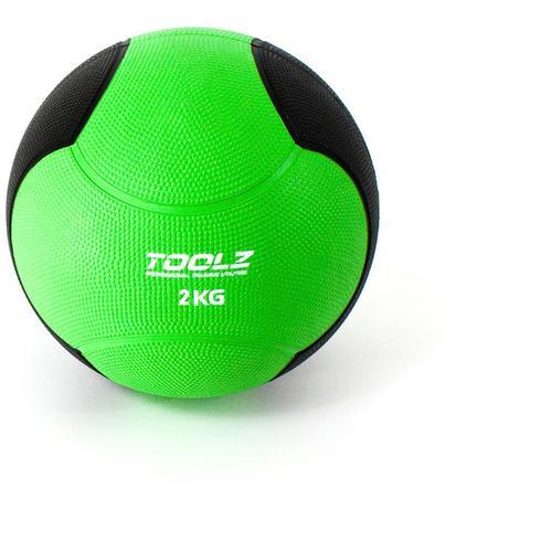 TOOLZ Medicine Ball Medizinball in green, Größe 2