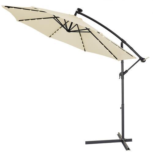 Deuba Sonnenschirm Solar LED-Beleuchtung