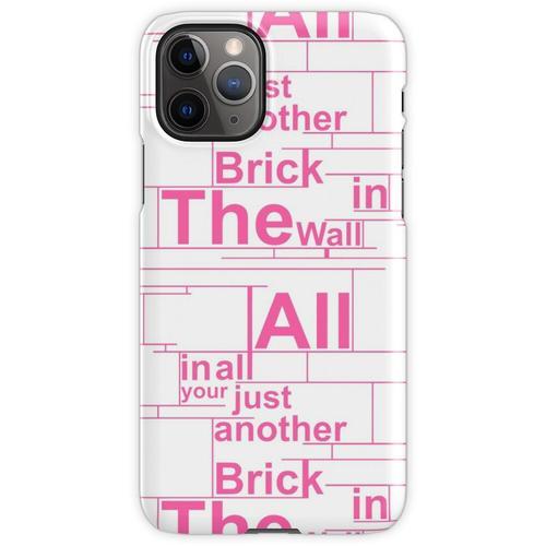 Pink Floyd Die Wandgestaltung iPhone 11 Pro Handyhülle