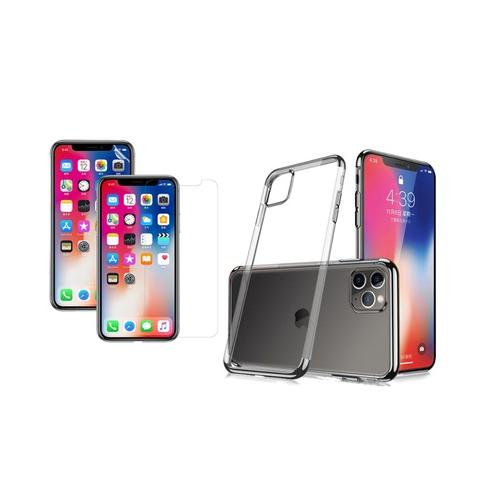 Transparentes Case: iPhone XS Max/ Rot