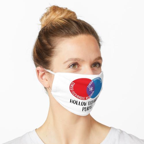 Hohltechnik Lila Maske