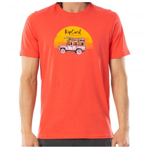 Rip Curl - Endless Search Tee - T-Shirt Gr M rot/beige