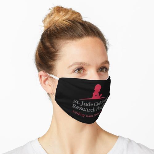 St. Judes Children 's Reseatch Hospital Heilmittel finden. Kinder retten. Maske