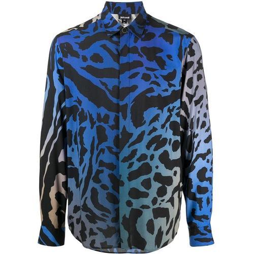 Just Cavalli Hemd mit Tiger-Print