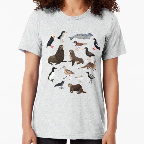 Birds + Mammals Tri-blend T-Shirt