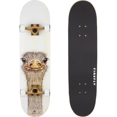 FIREFLY Skateboard SKB 505, Größe - in Weiß/Braun/Grau