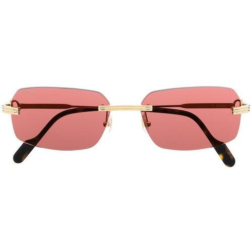Cartier Rahmenlose Sonnenbrille