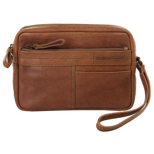 Spikes & Sparrow Handgelenktasche WRIST BAG braun Damen Handgelenkstaschen Taschen