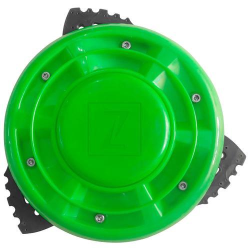 ZIPPER Motorsensenmesser ZI-BR3, Ø 25,4 cm, für Motorsensen grün Gartengeräte Garten Balkon