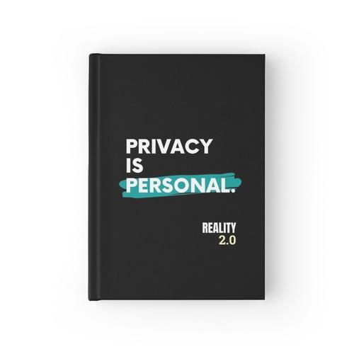 Datenschutz ist persönlich Notizbuch