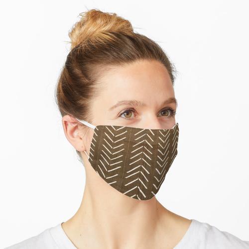 Zimtbrauner Schlammtuch 03 Maske