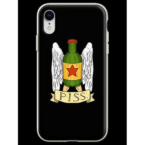 Heineken ist Pisse. Bierparodie. Flexible Hülle für iPhone XR
