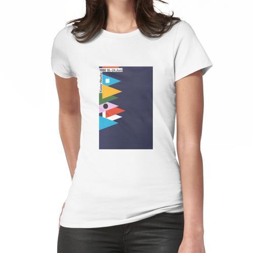 Kieler Woche / Kieler Woche Plakat 1990 Frauen T-Shirt