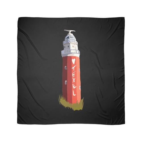 Texel Liebe Der Leuchtturm Eierland Geschenk für Texel Fans Tuch