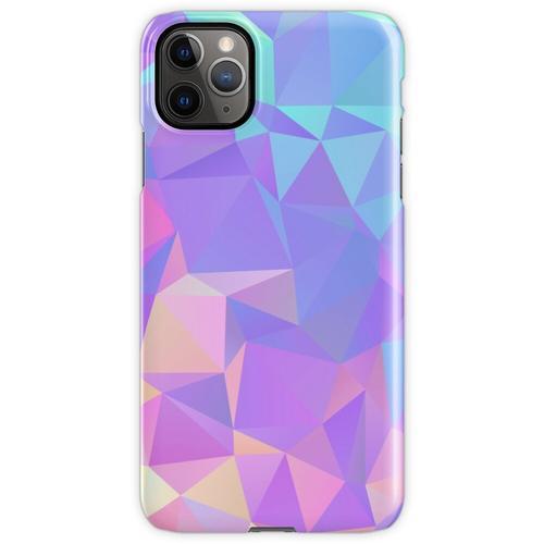 Kristallstruktur Low Poly Pattern Design iPhone 11 Pro Max Handyhülle