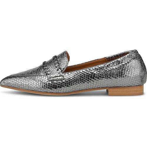 Thea Mika, Slipper in silber, Slipper für Damen Gr. 38