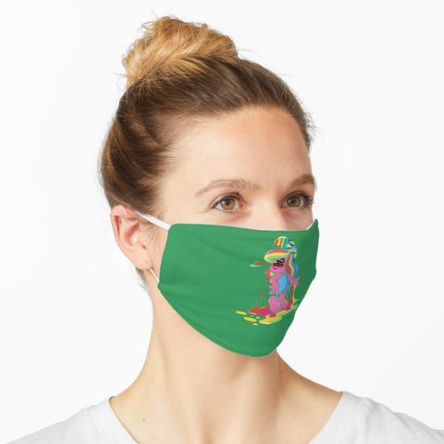 Schlümpfe Schlumpfine Maske